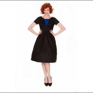 Lindybop Vintage 1950's Style Flared Swing Dress